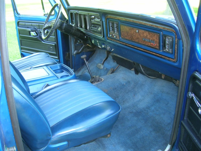 79 Ford Bronco Upholstery